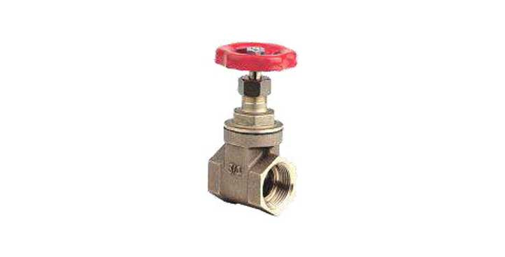 Gate rubber coated wedge valves